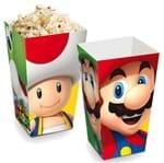 Caixa para Pipoca Super Mario