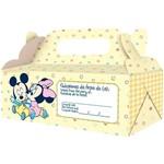 Caixa para Viagem Baby Mickey e Amigos com 4 Unidades - Regina Festas