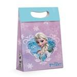 Caixa Plus Presente Elsa Frozen Disney Lilas 18x7,5cm C/10