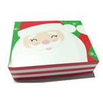 Caixa Retangular Divertida para Natal Média Cromus