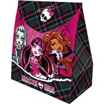 Caixa Surpresa Grande Monster High Kids com 8 Unidades Regina Festas