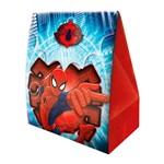 Caixa Surpresa Ultimate Spider Man - 8 Unidades - Regina Festas