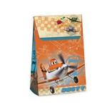 Caixa Trapezio P/presente Aviões Dusty Disney 12x6cm C/10