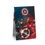 Caixa Trapezio Presente os Vingadores Marvel 19x9,5cm C/10