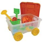 Caixinha da Diversao com Acessórios - Brinquedo de Praia Mor