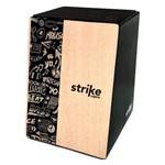 Cajón Elétrico Strike SK5001 Music MDF com Captador