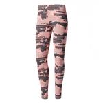 Calca Adidas Legging Aop 2 Rosa Fem G