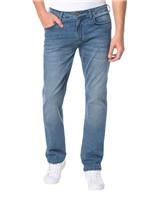 Calça Calvin Klein Jeans 5 Pckets Relaxed Straight Azul Médio - 40