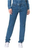 Calça Calvin Klein Jeans 5 Pockets Straight High Azul Médio - 40