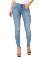 Calça Calvin Klein Jeans Five Pockets Jegging Azul Claro - 38