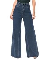 Calça Calvin Klein Jeans Five Pockets Pantalona Marinho - 34