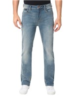 Calça Calvin Klein Jeans Relaxed Straight Azul Claro - 50