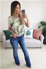 Calça Colcci Jeans Boot Cut Indigo - Azul