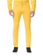 Calça Color Five Pock Slim - Amarelo Ouro - 36