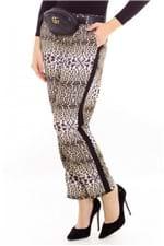 Calça Esportiva Animal Print com Listra CL0552 - Kam Bess