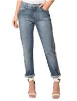 Calça Jeans 5 Pockets Mid Rise Boy - 34