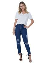 Calça Jeans Básica com Lavagem Clássica