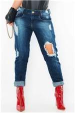 Calça Jeans Boyfriend Destroyed CL0482 - Kam Bess