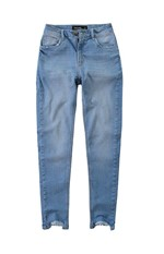 Calça Jeans Cigarrete Cintura Média Malwee Azul Claro - 36