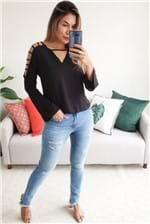 Calça Jeans Colcci Bia Indigo Love For Denim - Azul
