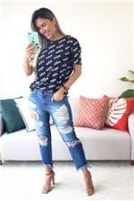 Calça Jeans Colcci Duda Boyish - Azul