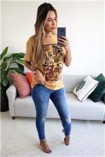 Calça Jeans Colcci Fatima Detalhe Desfiado - Azul