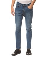 Calça Jeans Dieve Pockets Ckj 025 Slim Straight - Azul Médio - 36