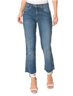 Calça Jeans Five Pockets CKJ 031 Mid Rise Straight Calça Jeans Five Pockets Mid Rise Straight - 38