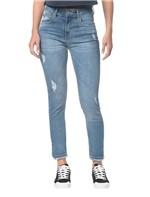 Calça Jeans Five Pockets Ckj 010 High Rise Skinny - Azul Claro - 34