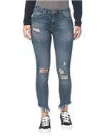 Calça Jeans Five Pockets Ckj 011 Mid Rise Skinny - Marinho Calça Jeans Five Pockets Mid Rise Skinnu - 34