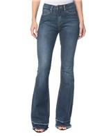 Calça Jeans Five Pockets Ckj 041 Mid Rise Flare - Marinho - 34