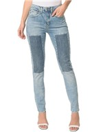 Calça Jeans Five Pockets High Rise Slim - 38