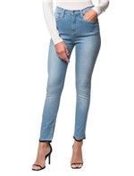 Calça Jeans Five Pockets Jegging High - Azul Claro - 36