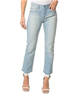 Calça Jeans Five Pockets Mid Rise Straigh - 34