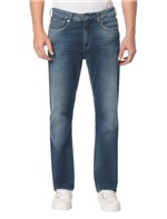 Calça Jeans Five Pockets Relaxed Straight - 38
