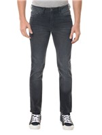 Calça Jeans Five Pockets Slim Preta CALÇA JEANS FIVE POCKETS SLIM - PRETO - 38