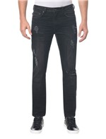 Calça Jeans Five Pockets Slim - Preto - 36