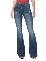 Calça Jeans Five Pocktes High Rise Flare CKJ 040 High Rise Flare - Marinho - 34
