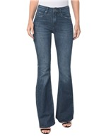 Calça Jeans Five Pocktes Mid Rise Flare CKJ 041 Mid Rise Flare - Marinho - 34