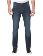 Calça Jeans Five Pocktes Slim Straight CKJ 025 Slim Straight - Marinho - 36