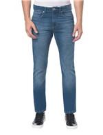 Calça Jeans Five Pocktes Straight CKJ 035 Straight - Azul Médio - 38