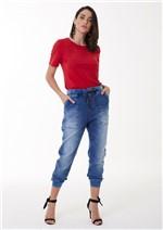Calça Jeans Jogging