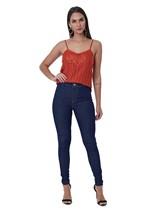 Calça Jeans Legging Básica