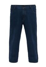 Calça Jeans Plus Size Azul Médio Classic 54