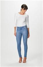 Calça Jeans Skinny Apliques Malwee Azul Claro - 46