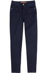 Calça Jeans Skinny Cintura Média Enfim Azul Escuro - 34