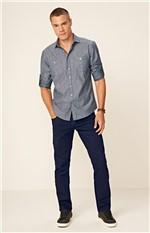 Calça Jeans Slim Enfim Azul - 36