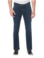 Calça Jeans Slim Straight - Marinho - 38