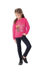 Calça Jeans Tradicional Cintura Média Malwee Kids Azul Escuro - 1