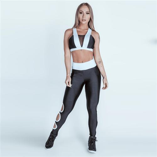 Calça Legging Icono Fitness Preto P